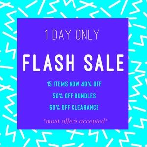 Other - 🔥🔥FLASH SALE 1 DAY ONLY!!🔥🔥 Huge Discounts!!